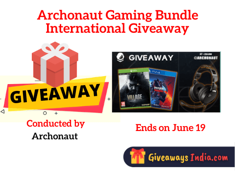 Archonaut Gaming Bundle International Giveaway