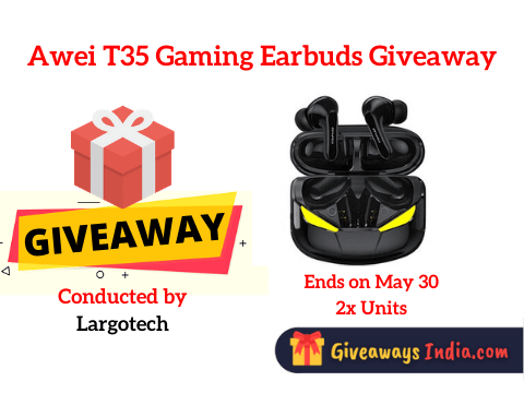 Awei T35 Gaming Earbuds Giveaway