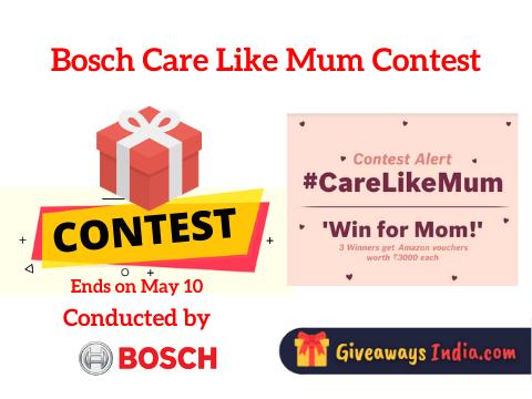Bosch Care Like Mum Contest