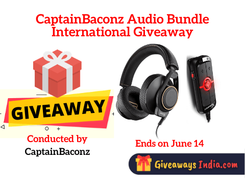 CaptainBaconz Audio Bundle International Giveaway