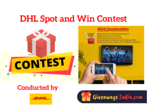 DHL Spot and Win Contest