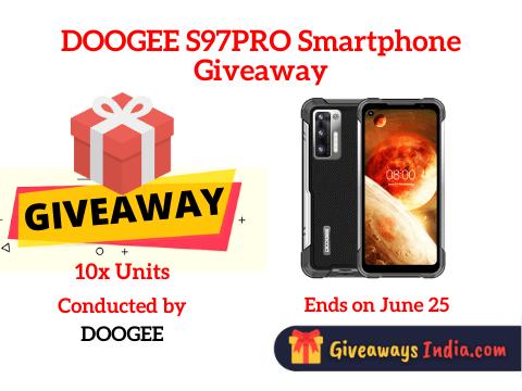 DOOGEE S97PRO Smartphone Giveaway