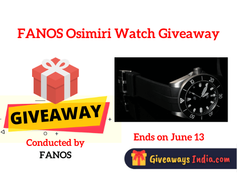FANOS Osimiri Watch Giveaway