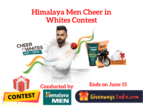 Himalaya Men Cheer in Whites Contest