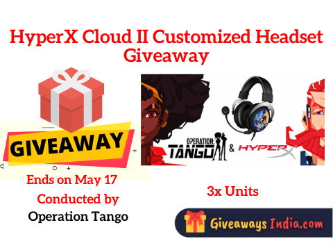 HyperX Cloud II Customized Headset Giveaway