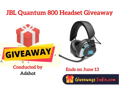 JBL Quantum 800 Headset Giveaway
