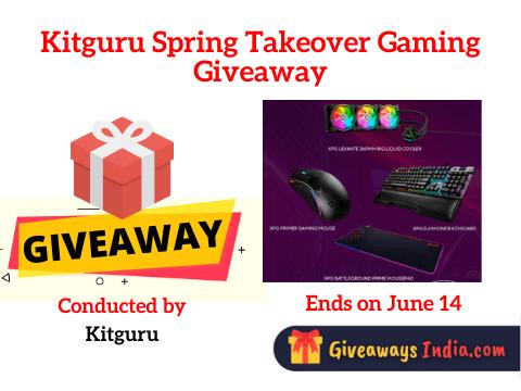 Kitguru Spring Takeover Gaming Giveaway