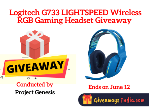 Logitech G733 LIGHTSPEED Wireless RGB Gaming Headset Giveaway