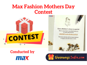 Max Fashion Mothers Day Contest