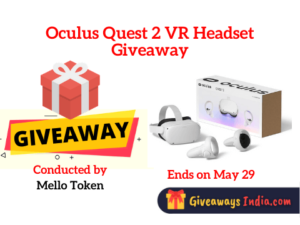 Oculus Quest 2 VR Headset Giveaway