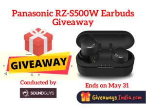Panasonic RZ-S500W Earbuds Giveaway