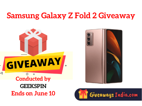 Samsung Galaxy Z Fold 2 Giveaway