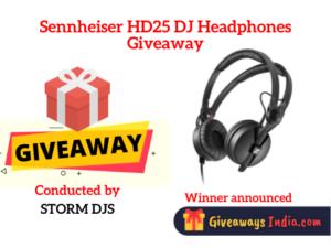 Sennheiser HD25 DJ Headphones Giveaway