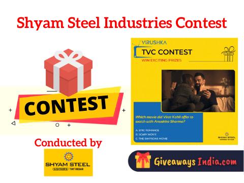 Shyam Steel Industries Contest