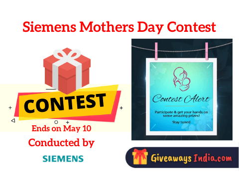 Siemens Mothers Day Contest