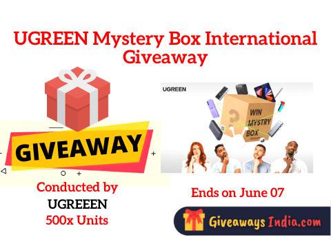 UGREEN Mystery Box International Giveaway
