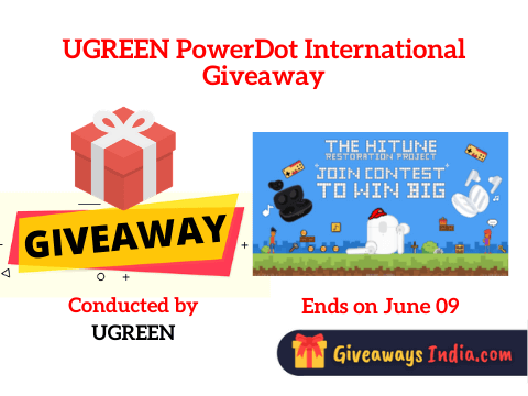 UGREEN PowerDot International Giveaway