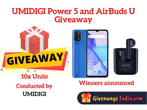 UMIDIGI Power 5 and AirBuds U Giveaway