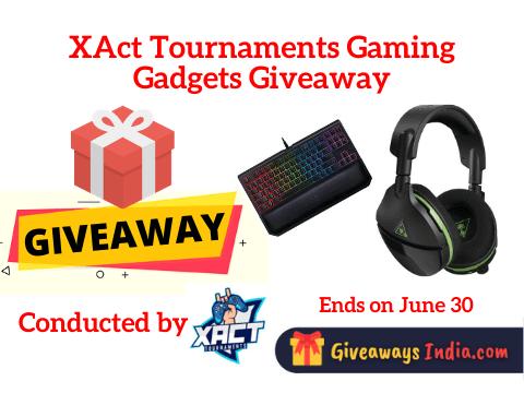 XAct Tournaments Gaming Gadgets Giveaway