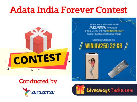ADATA India Forever Contest