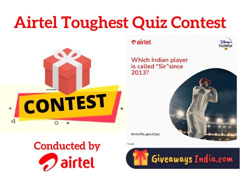 Airtel Toughest Quiz Contest