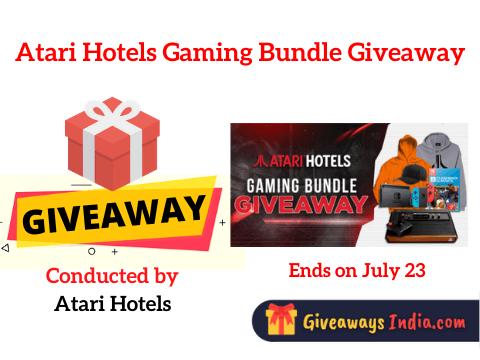 Atari Hotels Gaming Bundle Giveaway