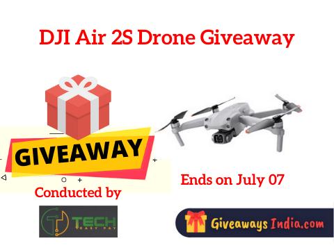 DJI Air 2S Drone Giveaway
