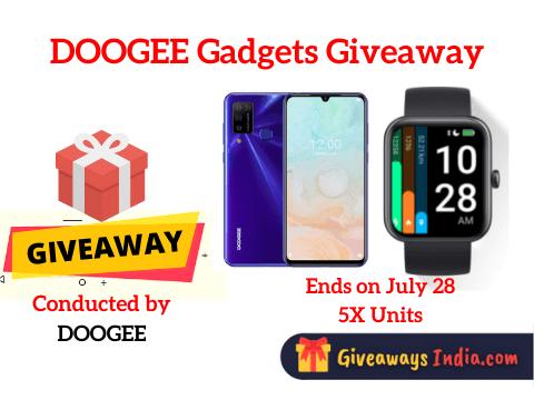DOOGEE Gadgets Giveaway