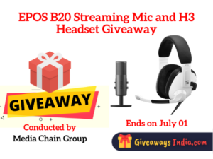 EPOS B20 Streaming Mic and H3 Headset Giveaway
