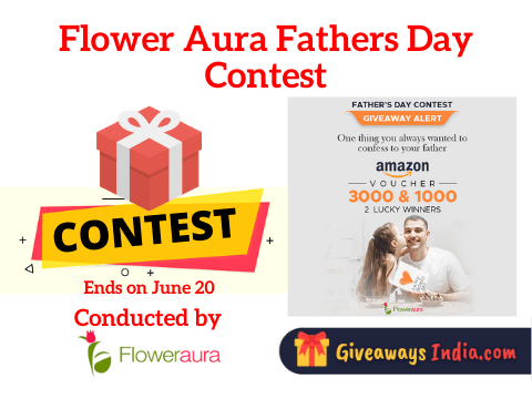 Flower Aura Fathers Day Contest