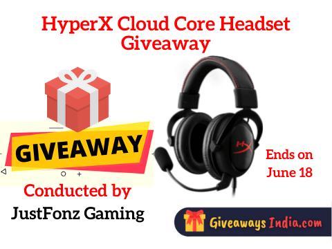 HyperX Cloud Core Headset Giveaway