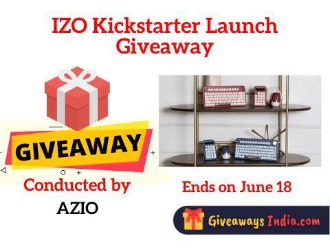 IZO Kickstarter Launch Giveaway