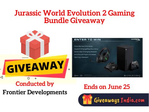 Jurassic World Evolution 2 Gaming Bundle Giveaway