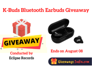 K-Buds Bluetooth Earbuds Giveaway