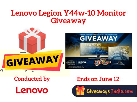 Lenovo Legion Y44w-10 Monitor Giveaway