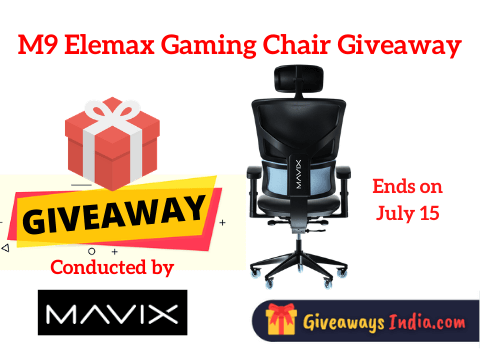 M9 Elemax Gaming Chair Giveaway