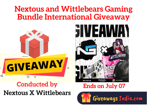 Nextous and Wittlebears Gaming Bundle International Giveaway