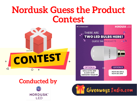 Nordusk LED Guess the Product Contest