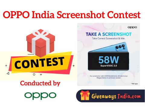 OPPO India Screenshot Contest