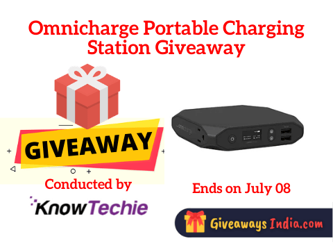 Omnicharge Portable Charging Station Giveaway