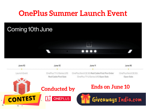 OnePlus Summer Launch Event