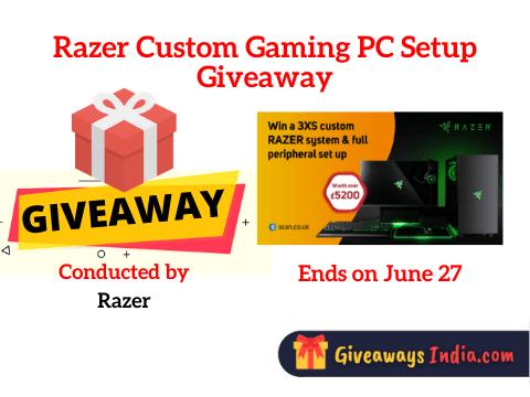 Razer Custom Gaming PC Setup Giveaway