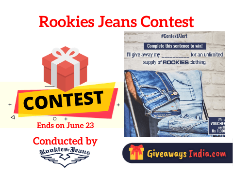 Rookies Jeans Contest
