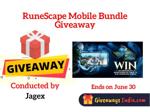 RuneScape Mobile Bundle Giveaway