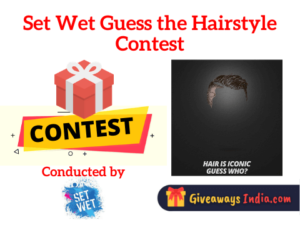 Set Wet Guess the Hairstyle Contest