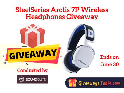 SteelSeries Arctis 7P Wireless Headphones Giveaway