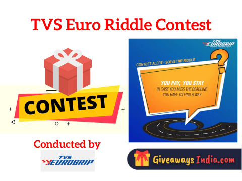 TVS Euro Riddle Contest