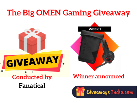 The Big OMEN Gaming Giveaway