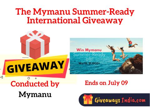 The Mymanu Summer-Ready International Giveaway