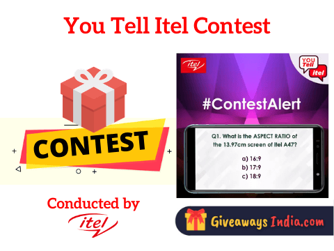 You Tell Itel Contest